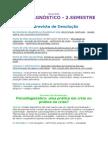 Super Resumão Psicodignostico 2011 - 3.ano