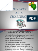 Poverty as a Challenge