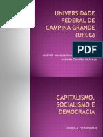 Capitalismo Socialismo e Democracia