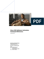 Cisco IOS Software Activation Command Reference