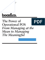 The Power of Operational POS