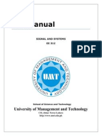 El-312 Lab Manual+List