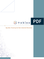 Tableau_Big Data Powering the Next Industrial Revolution