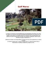 Golf Maroc