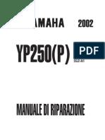 Yamaha Majesty YP250 5SJ 2002