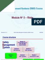 ICAO SMS M 05 – Risks (R013) 09 (E)