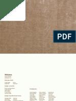 Catálogo de la Exposición Bitácora. 2011