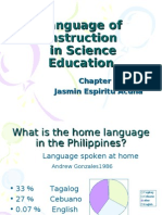 Language of Instruction in Science Education - Reiko