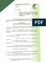 Projeto Taxistas - Itapajé