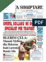 Gazeta Shqiptare 7.8