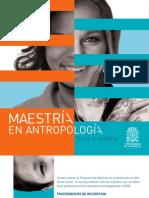 Plegable Maestría Antropología