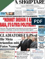 Gazeta Shqiptare 15.8