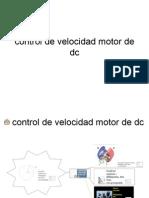 Control de Velocidad Motor de Dc