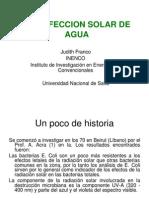 Desinfeccion Agua x Luz Solar