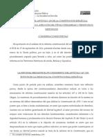 Reforma Articulo 135