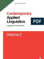 Contemporary Applied Linguistics v.2