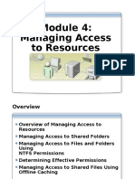 Module 4 - Managing Access to Resources