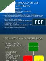 Unidad 4-El Desarrollo de Las Empresas