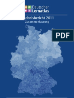 Stiftung Bertelsmann Lernatlas 2011