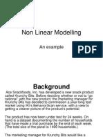 Non Linear Modelling Internet