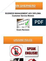 1. What is Customer Service - Exam Revision