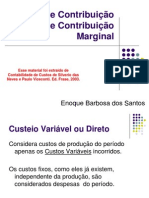 CGER (Margem de Contribuição (MC) e Contribuição Marginal)
