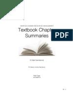 CMHR 523_ChapterSummaries