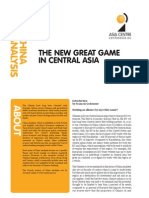 China Analysis_The New Great Game in Central Asia_September2011