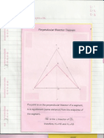 Geometry Interactive Notebook 5-1 to 5-3