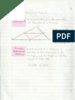 Geometry Interactive Notebook 5-4