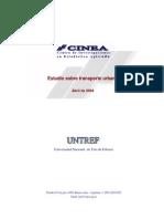 Informe Transporte