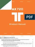 Tritton AX 720 Notice Mode Emploi Guide Manuel