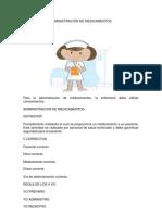 ADMINISTRACIÓN DE MEDICAMENTOS