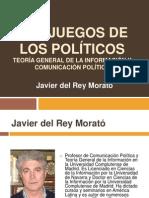 LOS JUEGOS DE LOS POLÍTICOS