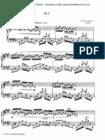 Scriabin Etude Op.8 No