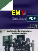 Medicina Tactica 2010 TC3