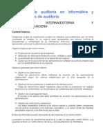 Auditoria de Sistemas - Ch 1