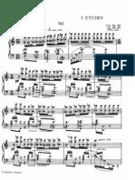 Scriabin Etude Op.65 No