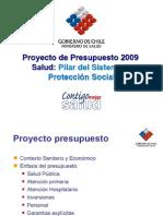 Presupesto Minsal 2009