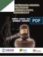 Caso Emblematico Peritaje Laboral_Alianza Fashion_Guatemala