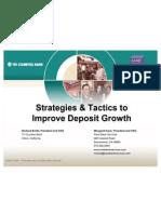 WIB TCB Deposit Strategies March 2006