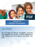 Hashoo Foundation Achievements 2011