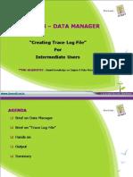 Creating Track Log File