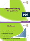 Data Warehousing an Overview