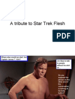 A Tribute to Star Trek Flesh