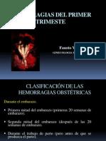 HEMORRAGIA DEL 1º TRIMESTRE