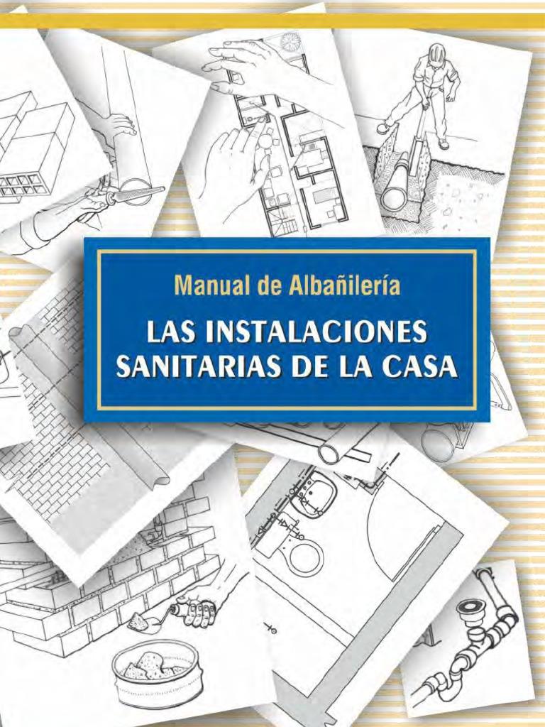 Manual de alba iler a las instalaciones sanitarias de la casa for Manual de tecnicas de cocina