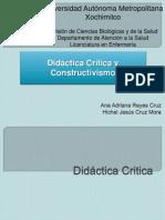 Didactica Critica y Constructivismo