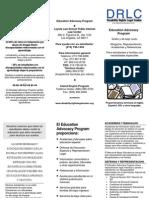 DRLC Education Advocacy Program-Spanish Language