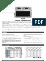 ADAM Technical Data Sheet